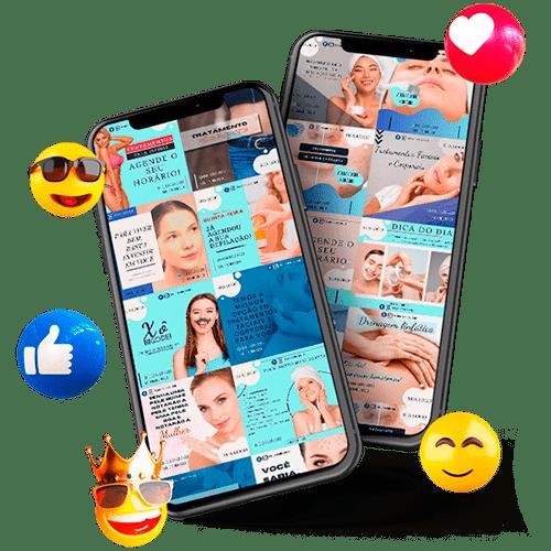artes redes sociais marketing estetica-min